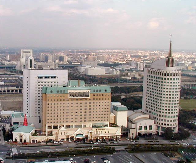 die gegend um das hotel in makuhari city On hotel francs japan